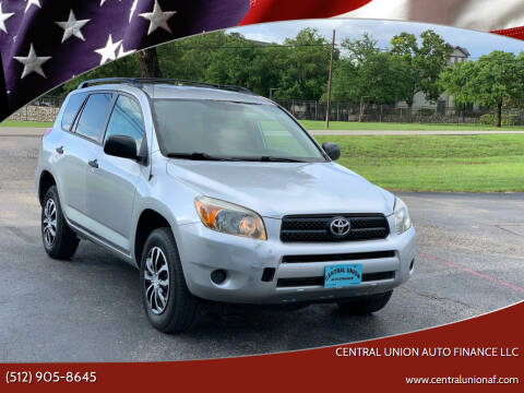 2006 Toyota RAV4 for sale at Central Union Auto Finance LLC in Austin TX