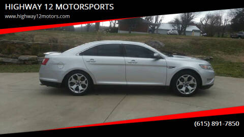 2011 Ford Taurus for sale at HIGHWAY 12 MOTORSPORTS in Nashville TN