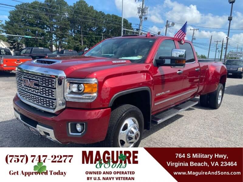 2019 GMC Sierra 3500HD for sale in Virginia Beach, VA