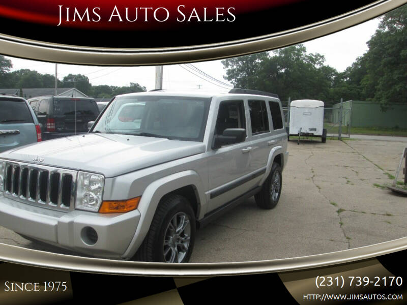2009 Jeep Commander for sale at Jims Auto Sales in Muskegon MI