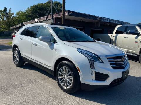2018 Cadillac XT5 for sale at Texas Luxury Auto in Houston TX