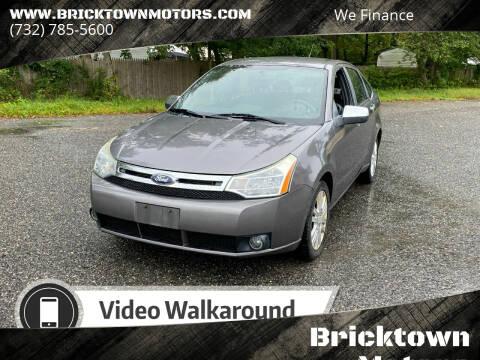 2010 Ford Focus for sale at Bricktown Motors in Brick NJ
