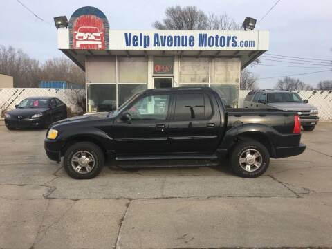 2004 Ford Explorer Sport Trac for sale at Velp Avenue Motors LLC in Green Bay WI