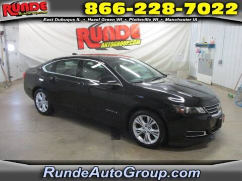 2015 Chevrolet Impala for sale at Runde Chevrolet in East Dubuque IL