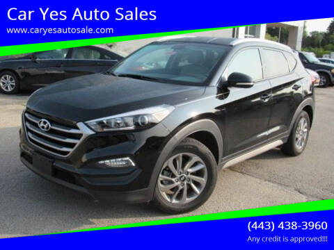 2017 Hyundai Tucson for sale at Car Yes Auto Sales in Baltimore MD