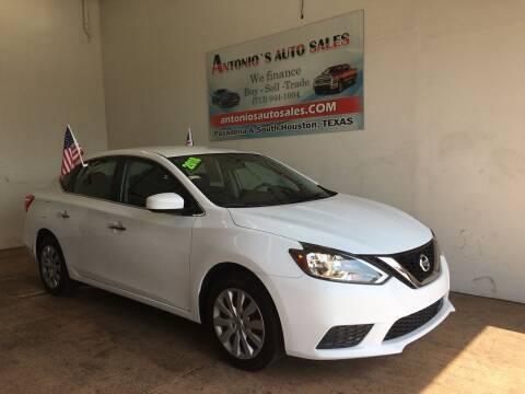 2018 Nissan Sentra for sale at Antonio's Auto Sales - Antonio`s  2206 in Pasadena TX