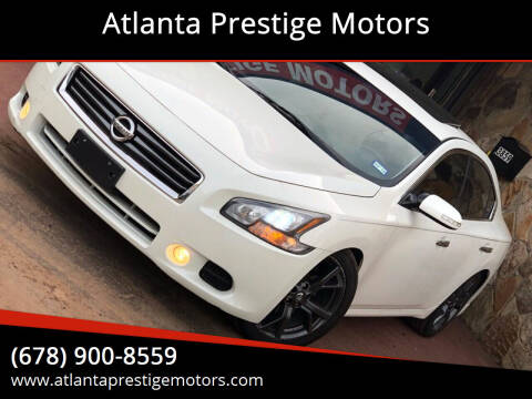 2014 Nissan Maxima for sale at Atlanta Prestige Motors in Decatur GA