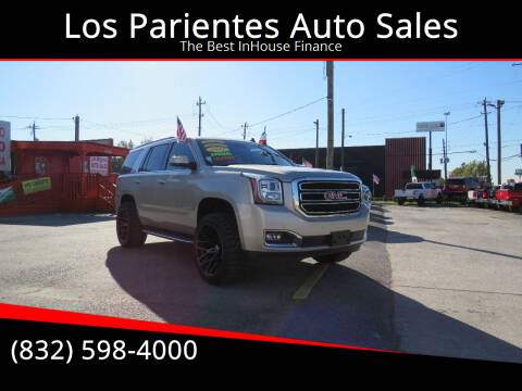 2015 GMC Yukon for sale at Los Parientes Auto Sales in Houston TX