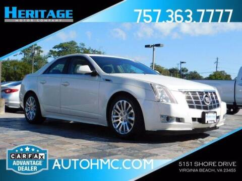 2012 Cadillac CTS for sale at Heritage Motor Company in Virginia Beach VA