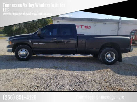 2005 Dodge Ram Pickup 3500 for sale at Tennessee Valley Wholesale Autos LLC in Huntsville AL
