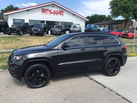 2015 Jeep Grand Cherokee for sale at Efkamp Auto Sales LLC in Des Moines IA