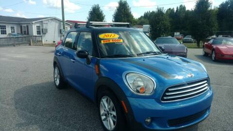 2012 MINI Cooper Countryman for sale at Kelly & Kelly Supermarket of Cars in Fayetteville NC