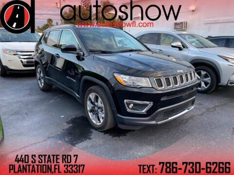 2020 Jeep Compass for sale at AUTOSHOW SALES & SERVICE in Plantation FL