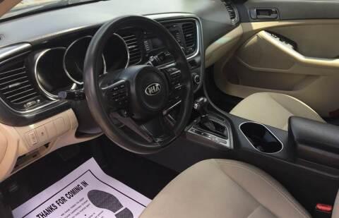2014 Kia Optima for sale at McNamara Auto Sales - Red Lion Lot in Red Lion PA