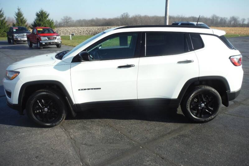 2018 Jeep Compass for sale at Bryan Auto Depot in Bryan OH