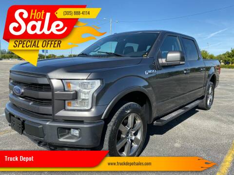 2016 Ford F-150 for sale at Truck Depot in Miami FL