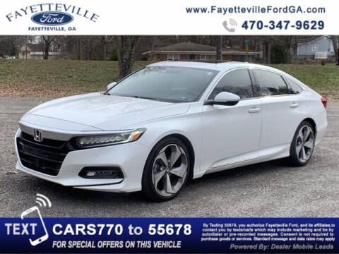 2019 Honda Accord for sale at FAYETTEVILLEFORDFLEETSALES.COM in Fayetteville GA