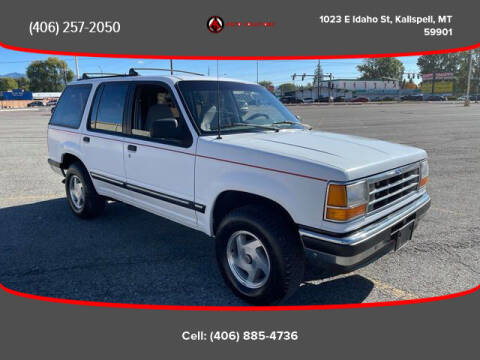 1992 Ford Explorer for sale at Auto Solutions in Kalispell MT
