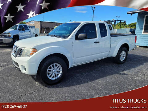 2015 Nissan Frontier for sale at Titus Trucks in Titusville FL