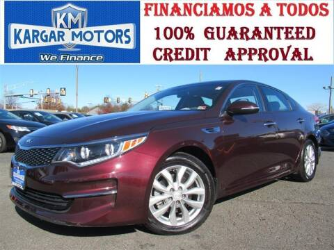 2016 Kia Optima for sale at Kargar Motors of Manassas in Manassas VA