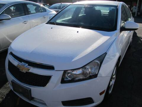2013 Chevrolet Cruze for sale at Mid - Way Auto Sales INC in Montgomery NY