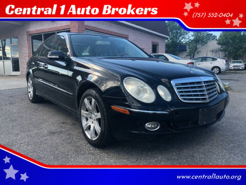 2007 Mercedes-Benz E-Class for sale at Central 1 Auto Brokers in Virginia Beach VA