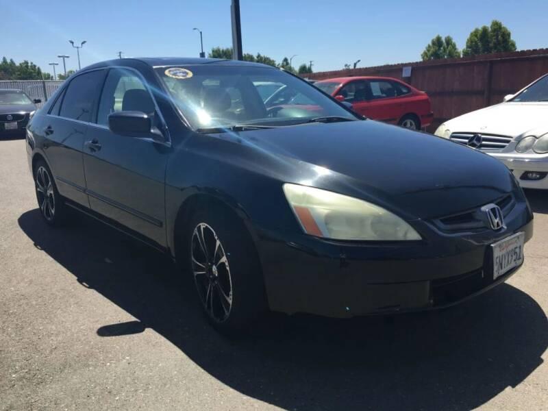 2005 Honda Accord for sale at Dealer Finance Auto Center LLC in Sacramento CA