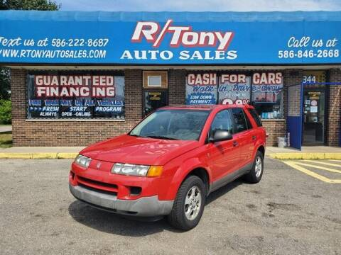 2004 Saturn Vue for sale at R Tony Auto Sales in Clinton Township MI