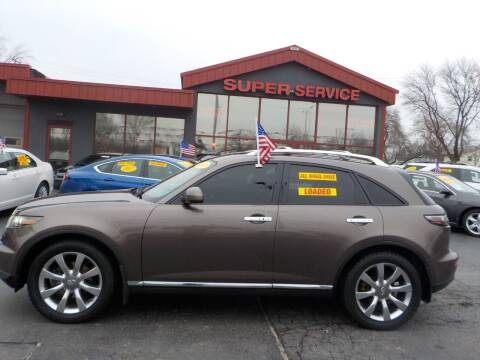2008 Infiniti FX35 for sale at Super Service Used Cars in Milwaukee WI