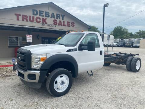 2014 Ford F-550 Super Duty for sale at DEBARY TRUCK SALES in Sanford FL