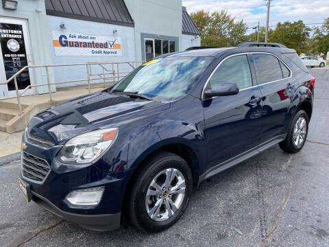 2016 Chevrolet Equinox for sale at Huggins Auto Sales in Ottawa OH