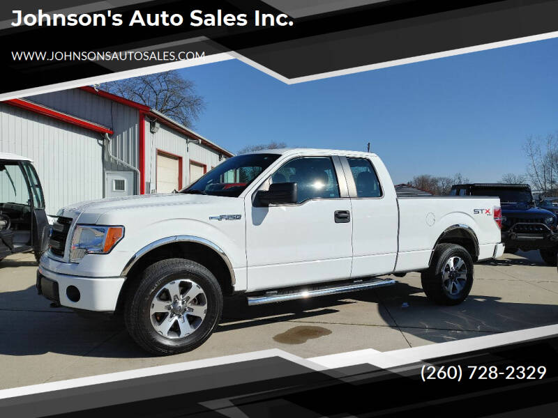 2013 Ford F-150 for sale at Johnson's Auto Sales Inc. in Decatur IN