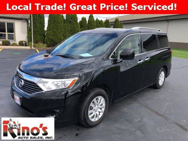 2012 Nissan Quest for sale at Rino's Auto Sales in Celina OH