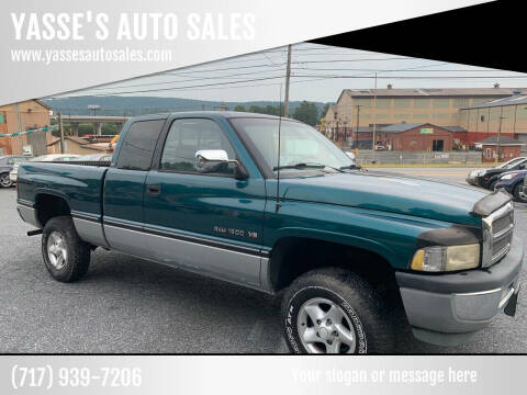 1997 Dodge Ram Pickup 1500 for sale at YASSE'S AUTO SALES in Steelton PA