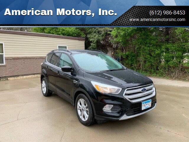 2018 Ford Escape for sale at American Motors, Inc. in Farmington MN