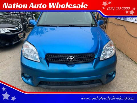 2007 Toyota Matrix for sale at Nation Auto Wholesale in Cleveland OH