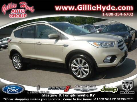 2017 Ford Escape for sale at Gillie Hyde Auto Group in Glasgow KY