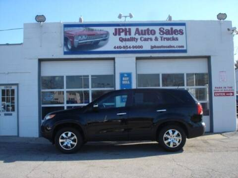 2011 Kia Sorento for sale at JPH Auto Sales in Eastlake OH