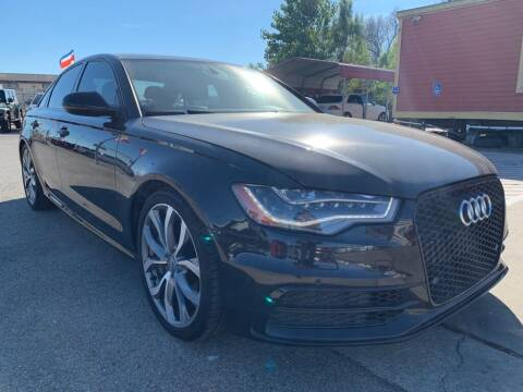2014 Audi A6 for sale at JAVY AUTO SALES in Houston TX