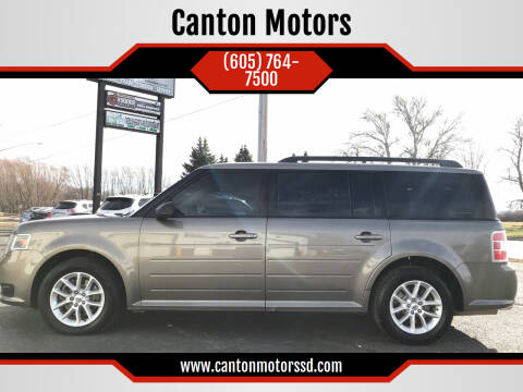 2014 Ford Flex for sale at Canton Motors in Canton SD