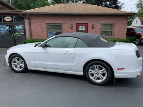 2014 Ford Mustang for sale at R C Motors in Lunenburg MA