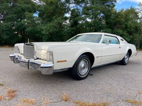 1974 Lincoln Mark IV for sale at Clair Classics in Westford MA