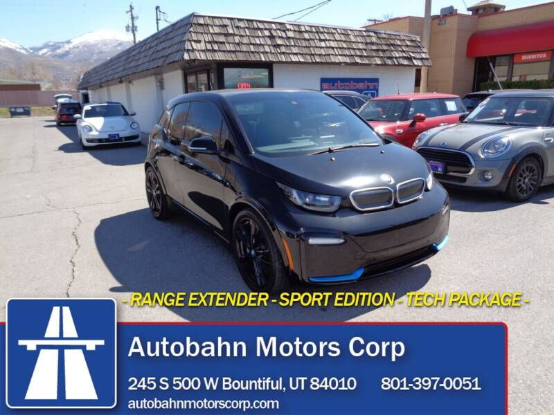 2018 BMW i3 for sale at Autobahn Motors Corp in Bountiful UT