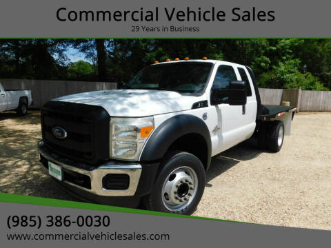 2011 Ford F-550 Super Duty for sale at Commercial Vehicle Sales in Ponchatoula LA