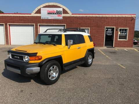 2007 Toyota FJ Cruiser for sale at Family Auto Finance OKC LLC in Oklahoma City OK