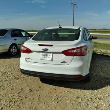 2013 Ford Focus for sale at BENHAM AUTO INC in Lubbock TX