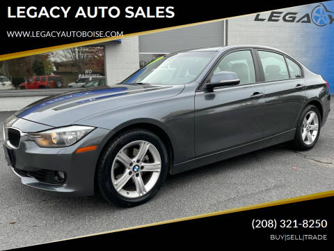 2013 BMW 3 Series for sale at LEGACY AUTO SALES in Boise ID