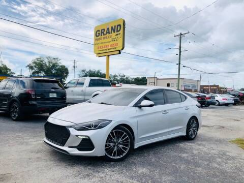 2018 Hyundai Elantra for sale at Grand Auto Sales in Tampa FL