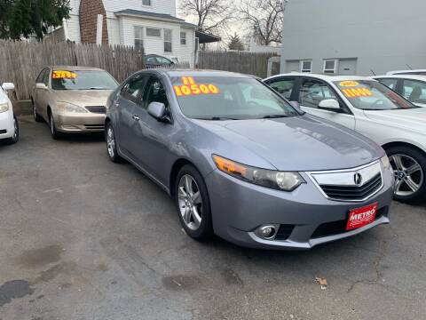 2011 Acura TSX for sale at Metro Auto Exchange 2 in Linden NJ