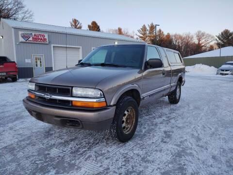 2003 Chevrolet S-10 for sale at Hilltop Auto in Prescott MI